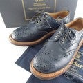 Tricker's トリッカーズ Quilp by Tricker's M7457 Derby Brogue ウイングチップ フルブローグシューズ 7 FIT:5 ネイビー メンズの買取実績です。