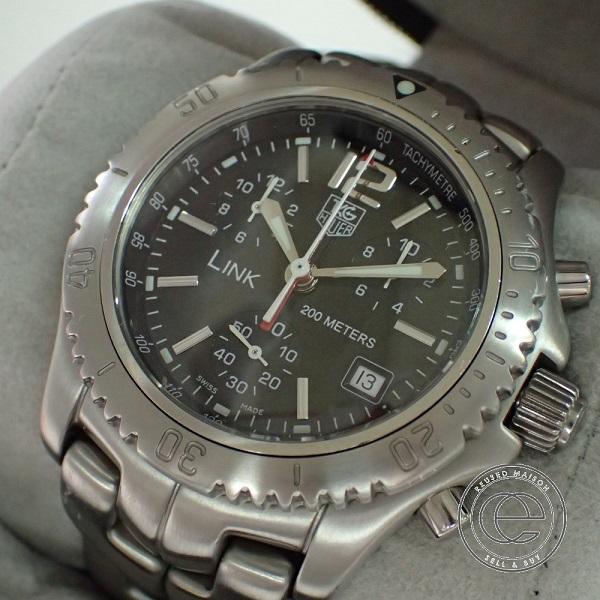 quality design d2903 71455 タグホイヤー LINK リンク CT1111 クロノグラフ クォーツ時計 ...