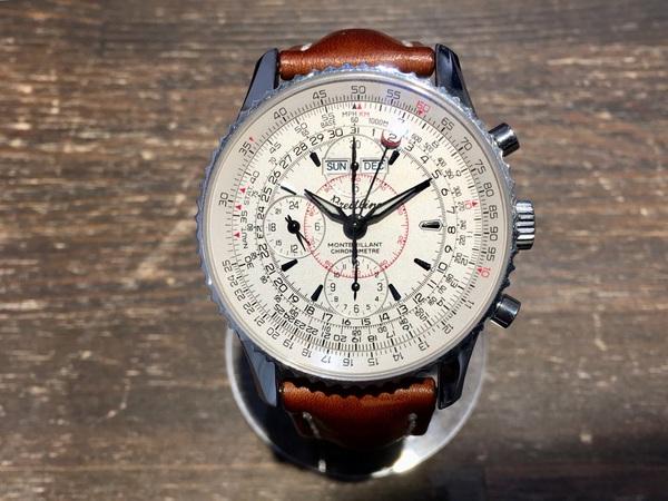 watch 294a3 d5ad2 ブライトリング A213G18NP モンブリラン ダトラ AT/革ベルト 買取 ...