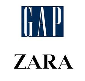 普段着る洋服のブランドが決まっているという人や、ずっと同じ系統の服装になってしまうという人におすすめなのがGAPやZARAなどのファストファッションです。