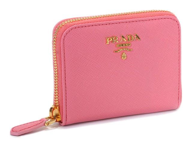 プラダ ピンク サフィアーノレザー ラウンドジップ コインケース 中古品の買取強化例です。