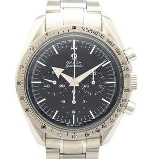 オメガ スピードマスター ファーストレプリカ 黒文字盤 手巻き 腕時計の買取強化例です。