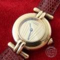 CARTIERカルティエ マストコリゼ VERMEILヴェルメイユ クォーツ腕時計 SV925