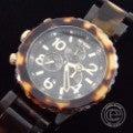 NIXONニクソン  THE 42-20 CHRONO クロノグラフ A037-679 TORTOISE べっ甲柄 腕時計の買取実績です。