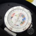 3H トレアッカ OCEANDIVER AUTOMATIC SUPERLUMINOVA 500FT/150MT DEEP PRO GMT ラバーベルト 自動巻 ダイバーズウォッチ 腕時計