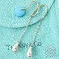 TIFFANY&Co.ティファニー ティアドロップ ドロップピアス シルバー925