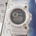 【即決☆】 CASIOカシオ G-SHOCK FROGMANフロッグマン GW-206K-7JR イルクジモデル  タフソーラー 白  腕時計 メンズ ウォッチの買取実績です。