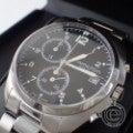 HAMILTON ハミルトン カーキパイロット パイオニアクロノ H765120  シルバー ブラック文字盤  腕時計 メンズの買取実績です。