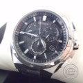即決■CITIZENシチズン AT3010-55E E610-T018505 ATESSAアテッサ ソーラー電波クロノグラフ腕時計