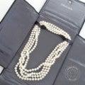 ティファニー 7mm真珠 ロングパールネックレス