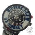 ハリウッドランチマーケット ネオンウォッチ5 HOLLYWOODバージョン クオーツ 腕時計の買取実績です。