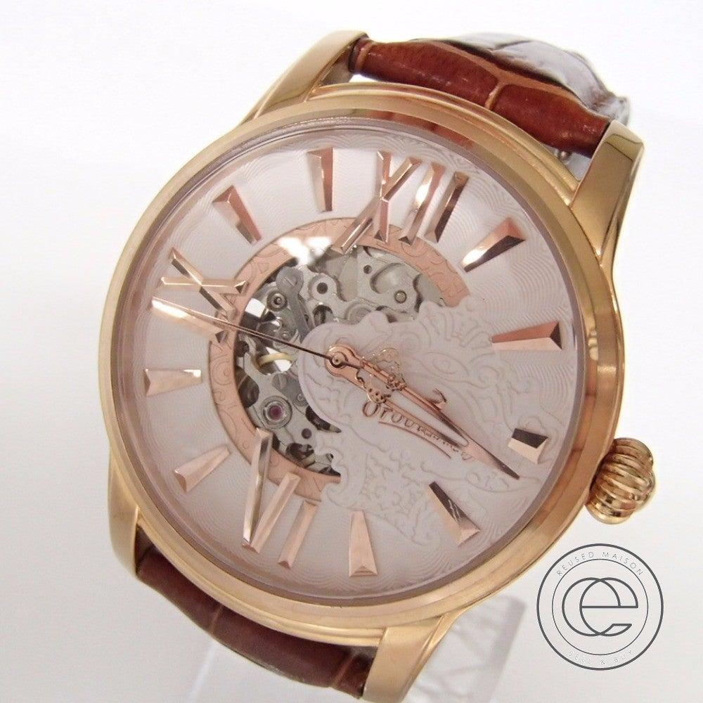 OROBIANCOオロビアンコ TIMEORA OR-0011  ORAKLASSICAオラクラシカ 自動巻き腕時計の買取実績です。