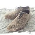 foot the coacher【フットザコーチャー】1334018 レオパード柄 ウィングチップシューズの買取実績です。