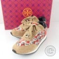 Tory Burchトリーバーチ 22148428 Delancy Printed Sneakers スエード/フラワープリント ロゴ刺繍 スニーカー5の買取実績です。