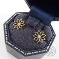 ◆humハム K18/ダイヤモンド0.02ct フラワーレース ピアスの買取実績です。
