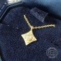 ◆humハム 18K rosecut ローズカット ダイヤモンド ネックレスの買取実績です。