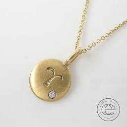 【スタジオウォーターフォール】ブラウンダイヤチャーム ダイヤ/サファイヤネックレス ネックレス K18 ユニセックスffの買取実績です。