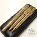 デュポン 世界限定 ファラオ 万年筆 ボールペン シャープペン3本の買取実績です。