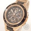 即決◇CASIOカシオ Baby-G G-ms MSG-7100-DGJ アナデジ ソーラー電波 クロノグラフ腕時計の買取実績です。