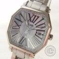美品◇CITIZENシチズン XC H010-T014135 メタルバンド  エコドライブ電波腕時計