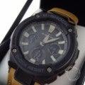美品◇即決◇CASIOカシオ G-SHOCK GST-W120L-1BJF G-STEEL タフレザー マルチバンド6 電波ソーラー 腕時計の買取実績です。
