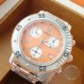 HERMESエルメス CL2.316 CLIPPER DIVERクリッパー ダイバー クロノグラフ SS レディース オレンジダイヤル クオーツ 腕時計の買取実績です。