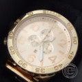 NIXONニクソン A083897 THE 51-30CHRONO オールローズゴールド クロノグラフ クオーツ 腕時計