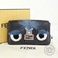 FENDI【フェンディ】バグズ マイクロ バゲット 2WAYバッグ 黒 ショルダーバッグの買取実績です。