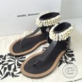 イザベルマラン Cauri Shoes シェルトングサンダル37 ブラック レザー シューズの買取実績です。