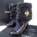 シャネル C4823 2009年モスクワコレクション ファー付きパテント切替ショートブーツの買取実績です。