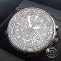 新品同様★シチズン プロマスター BY0084-56E エコドライブ パイロットウオッチ ダイレクトフライト ディスク式 ワールドタイム 電波腕時計