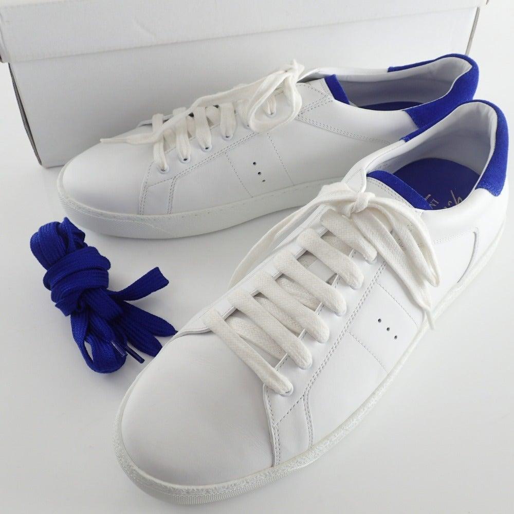 J.M. WESTON ジェイエムウエストン Yves Klein イヴ クラインコラボ 649 Bleu Kein Sneaker ブルークラインスニーカー 9Dの買取実績です。