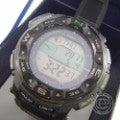 □CASIOカシオ PRO TREKプロトレック PRW-S2500-1JF リアルマテリアルシリーズ マルチバンド6  ブラック  デジタル腕時計の買取実績です。