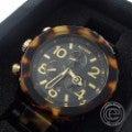 NIXONニクソン A037-679 THE 42-20 CHRONO ALL BLACK/TORTOISE べっ甲柄 クロノグラフ クオーツ 腕時計の買取実績です。