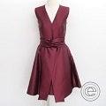 アディアム 33438 シルク混 Vネック ノースリーブドレス ワンピースの買取実績です。