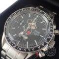 BEAMSビームス ×OVER THE STRiPESオーバーザストライプス×Mickey Mouse クロノグラフ タキメーター クオーツ腕時計の買取実績です。