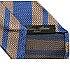 チェザーレアットリーニ ブラウン×ブルー レジメンタル柄 ネクタイ 美品の買取強化例です。