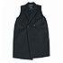 美品 ドゥーズィエムクラス Lisiere 黒 ダブル釦襟付きロングジレ/ベストの買取強化例です。