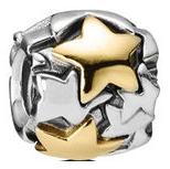 パンドラ(PANDORA) ゴールデンスター チャームの買取強化例です。