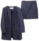 アドーア 531-120314 ノーカラージャケット×スカート セットアップ スーツの買取強化例です。