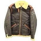 バズリクソンズ 40's 羊革 ムートンフライトジャケット38の買取強化例です。
