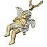 アヴァランチ 10K ゴールドダイヤモンド エンジェルペンダントヘッドの買取強化例です。
