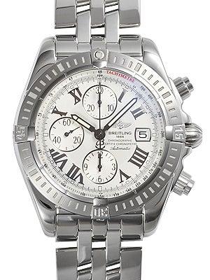 ブライトリング A13356 クロノマット エボリューション クロノグラフ 自動巻き 腕時計の買取強化例です。
