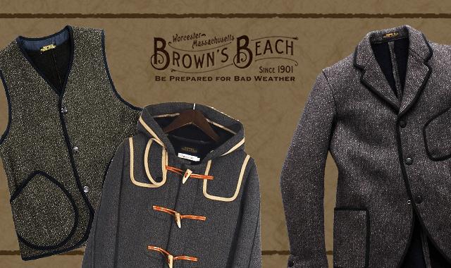 ブラウンズビーチジャケットの高価買取ならお任せ下さい。