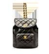 シャネル(CHANEL) リュック 黒 ラムスキン G金具の買取強化例です。