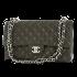 シャネル マトラッセ ダブルフラップ ラムスキン Wチェーンバッグ SV金具 の買取強化例です。