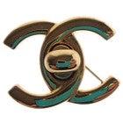 シャネル(CHANEL)ココマークターンロックモチーフ ピンブローチ 美品 の買取強化例です。
