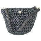 ドルチェ&ガッバーナ チャコールグレー ラフィアショルダーバッグ 中古美品の買取強化例です。