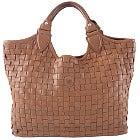 中古 フェリージ(Felisi) 09-33 イントレチャート メッシュレザーハンドバッグの買取強化例です。