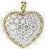 ギメル(gimel)ハートモチーフ パヴェダイヤモンド ペンダントトップの買取強化例です。
